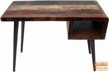 Vintage Schreibtisch, Couchtisch aus Recyclingholz