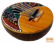 Kalimba aus Kokosnuß