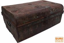 Alter Blechkoffer antiker Metallkoffer - Modell 14
