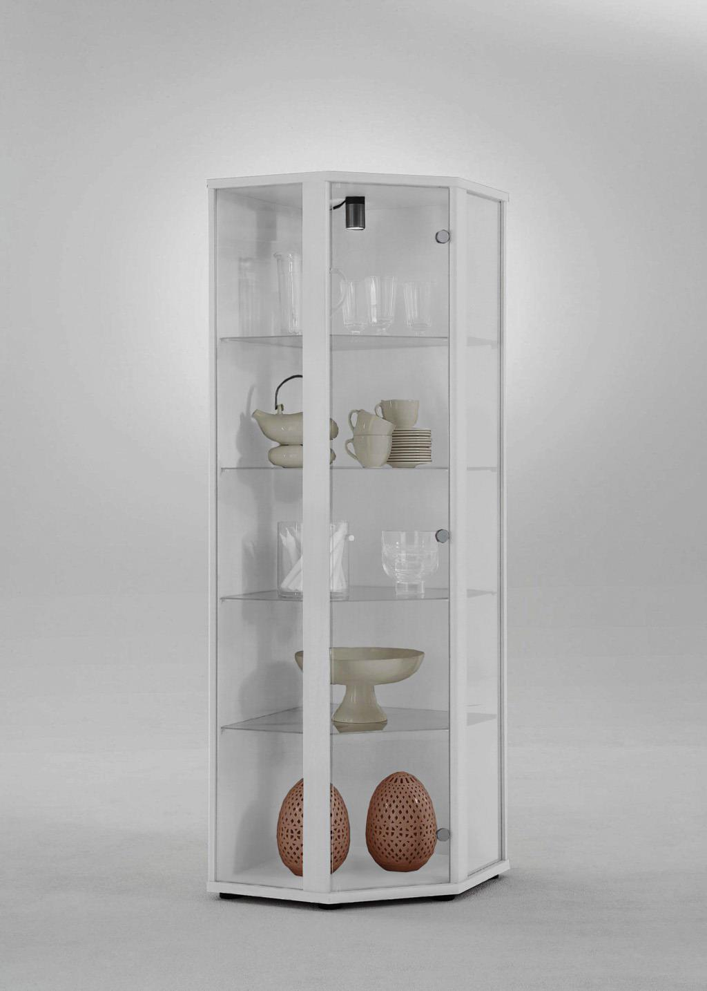glasvitrine sammelvitrine eckvitrine vitrine beleuchtung. Black Bedroom Furniture Sets. Home Design Ideas
