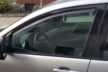 Mazda 0 (CW) ab BJ 2010- ClimAir Windabweiser Fahrer- Beifahrer 3378 schwarz