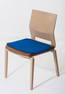 Sitzauflage mit Anti-Rutsch Noppen-rot