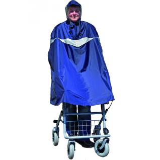 Rollator Poncho blau
