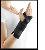 dynamics Handgelenkstütze schwarz-links-über 21 cm