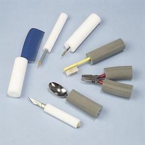 Plastazote Schaumstoffröhre, weiß - 9 mm