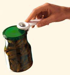 Brix Jar Key® Schraubgefäßöffner-gelb