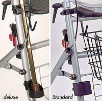 Stockhalter für Rollatoren für Standard und Aluminium Rollator