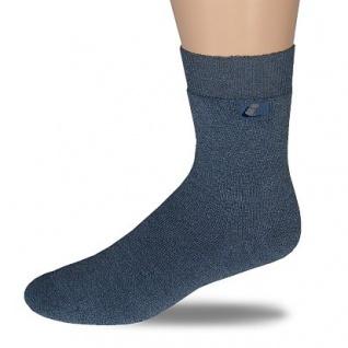 Socke Vollplüsch-schwarz-43-46