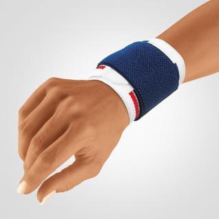 BORT Stabilo® Handgelenkbandage - weiß/blau Gr. 2 - Vorschau