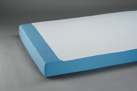 Molton-Bettauflage einseitig, geschnitten 150 x 100 cm