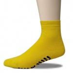 ABS-Socke Frottee-d.-grau meliert-35-38