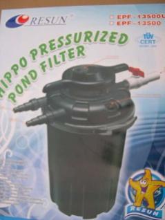 Resun Druckfilter Teichfilter Gartenteichfilter Koiteich mit 24W UVC 18000 L/h