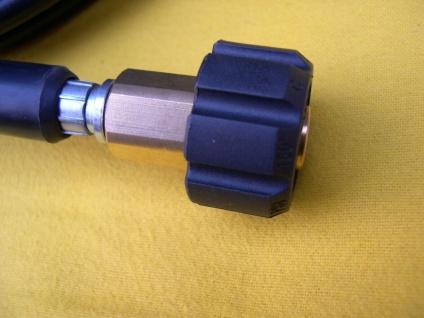30m Schlauch + rot. Rohrreinigungsdüse M22 Kärcher HD HDS Hochdruckreiniger