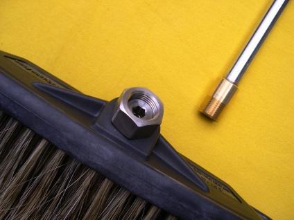 Waschbürste zum aufschrauben auf Lanze für Kärcher K HD HDS Hochdruckreiniger