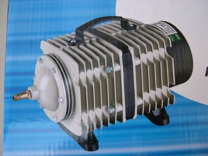Hochleistung - Belüfter 14400 L/h Teichbelüfter Sauerstoffpumpe für Ausströmer