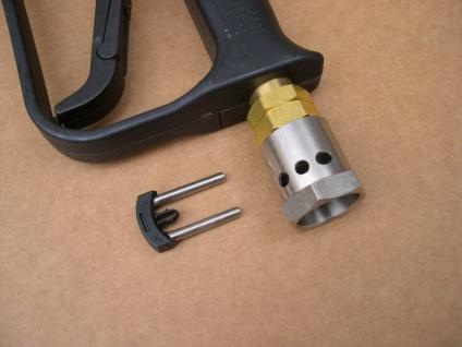 Pistole für 11mm - Stecknippel - Schlauch für Kärcher HD HDS Hochdruckreiniger