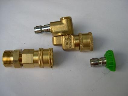 0-45° Fassaden - Düsenträger M22 + Schnellwechseldüse Kränzle Hochdruckreiniger - Vorschau 3