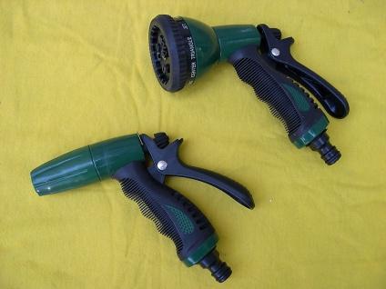"""2 Stück Auto - Waschpistole für 1/2"""" Wasserschlauch Autopflege Bus LKW PKW BS"""