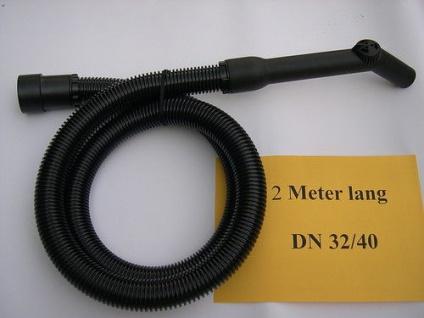 Saugschlauch DN32/40 Meterware Kärcher Einhell Budget Güde AEG NT 1500 A Sauger Haushaltsgeräte