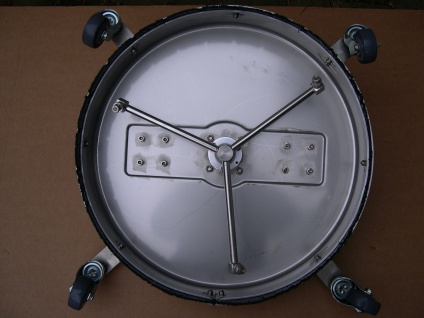 Profi Flächenreiniger Bodenreiniger 520mm Edelstahl f. Kärcher Hochdruckreiniger