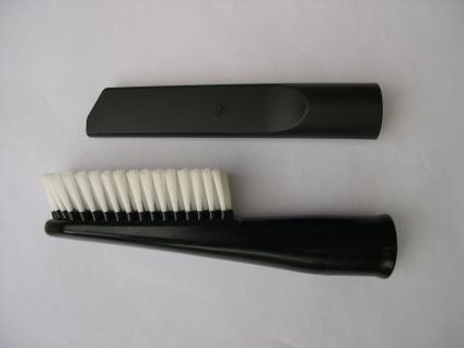 2x Saugdüse Autobürste + Fugendüse für Clatronic Einhell Bosch Lavor NT Sauger