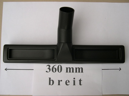 Profi - Bodendüse 360mm breit für Alto Nilfisk Attix AERO Maxi Sauger System 36