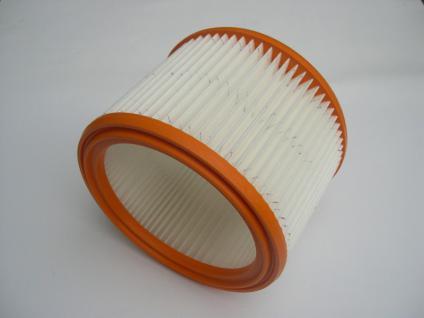 Universal - Filterelment Filter Rundfilter Filterpatrone Nilfisk Wap Alto Sauger