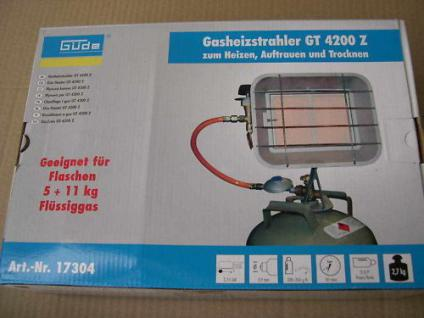 Güde Gewerbestrahler GT4200 5KW Heizstrahler Infrarot