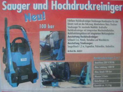 NEUHEIT 2 in 1 Güde Hochdruckreiniger + NT Sauger in einem Gerät Sonderpreis