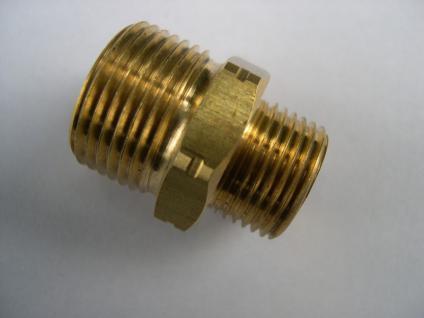 """Doppelnippel (messing) 3/8""""/M21 Wap Alto Hochdruckreiniger - Zubehör - Vorschau"""