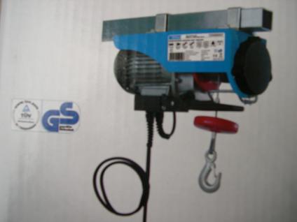 Elektrischer Seilzug 200 Kg 230V Hebezug Kran Hubzug Seilwinde Hebezeug Winde