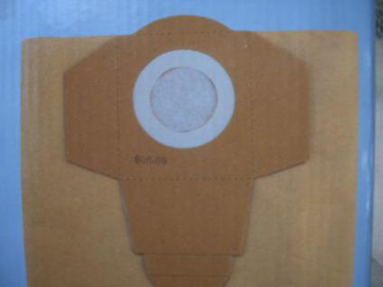 5x Schmutzfangsack Filtersäcke Filtertüte Einhell NTS 1500 NT Sauger Staubsauger - Vorschau
