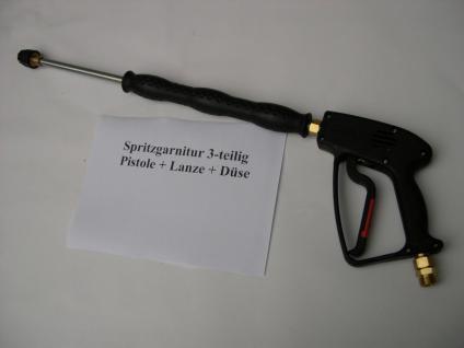 Hochdruckpistole Pistole + Strahlrohr Lanze 500mm für Kärcher Profi Kränzle