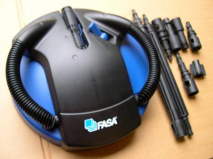 Fliesenreiniger mit Adapter für Kärcher und Kränzle Hochdruckreiniger passend