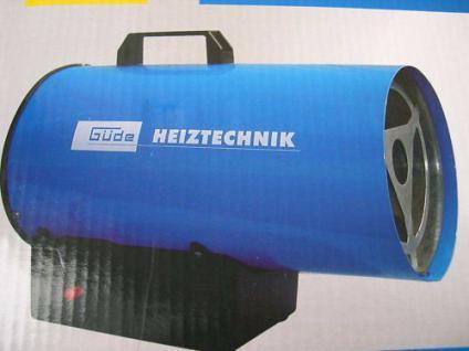 Gasheizgebläse 10 KW Gasheizer Baustellenheizer Heizung Propangas - Heizgerät - Vorschau