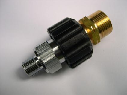 """Adapter 2-tlg M22AG/1/4""""AG für Kärcher und andere Hochdruckreiniger bzw. Zubehör"""