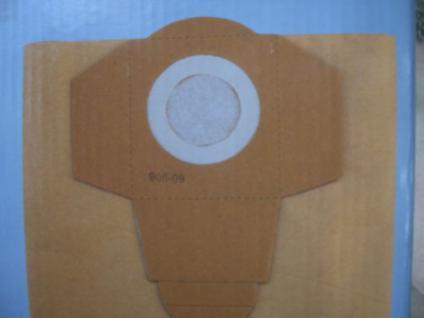 5x Schmutzfangsack Einhell RT-VC 1500 1500MW NT Sauger
