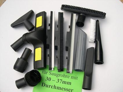 Saugdüsen -Set 11-tg DN35/40 Starmix GT Sauger Staubsauger Industriesauger