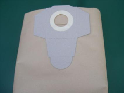 5x Schmutzfangsack Einhell Inox 1450 WA NT Sauger