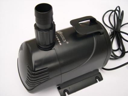 Qualitäts - Teichfilterpumpe 10000 Liter/h Filterpumpe Filterpump Bachlaufpumpe - Vorschau
