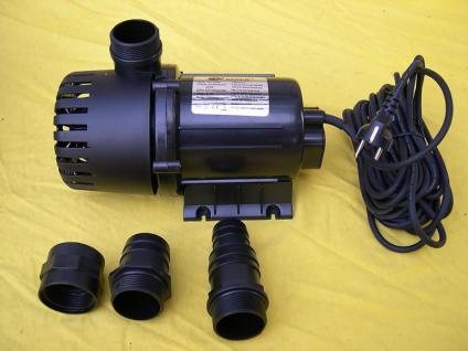 Filterpumpe 28000 ltr Teichfilterpumpe für große Koi- und Gartenteichfilter - Vorschau 1