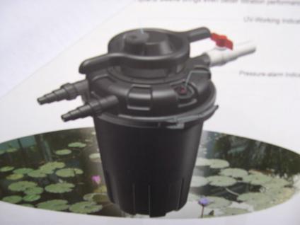 Profi Druckfilter Teichfilter mit 24 W UVC 18000 l/h - Vorschau