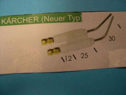 Zündelektroden Doppel Kärcher HDS Hochdruckreiniger