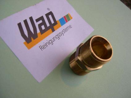 Doppelnippel Verbinder M21/M21AG Wap Hochdruckreiniger - Vorschau