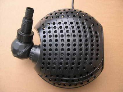 Filterspeisepumpe 11000 L Bachlaufpumpe für Teichfilter