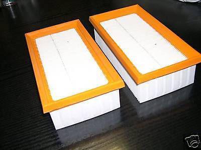 2er-Pack Filter Hauptfilter Festool CT CTL CTM 11 22 33 44 55 Absaugung Sauger
