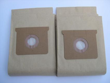 10 Papierfiltertüten 2-lagig Kärcher NT 561 Sauger