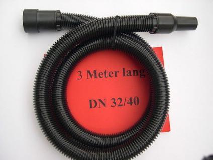 3m Saugschlauch+ Muffen 3tg DN32 Starmix Allzwecksauger - Vorschau