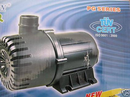Hochleistungs - Bachlaufpumpe Filterspeisepumpe 18000 Liter
