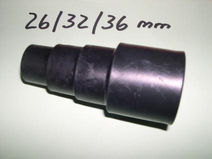 Saugschlauch - Stufentülle 26-32-36 f Elektrogeräte Einhell NT Sauger Saubsauger